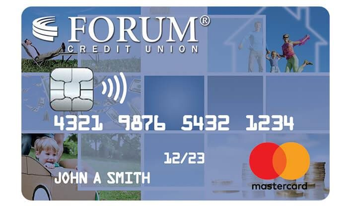 An image of FORUM's credit card