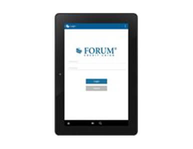 FORUM app screenshot